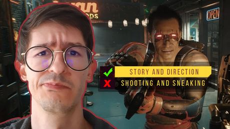 Cyberpunk 2077 is Great as Interactive Movie, Worse as Video Game