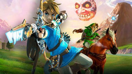 10 best Legend of Zelda games