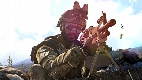 how to get down a mechanic warrior in arma 3